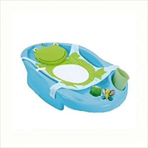 deluxe safety 1st funtime froggy baby bath center tub baby. Black Bedroom Furniture Sets. Home Design Ideas
