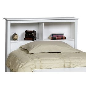 Prepac WSH-4543 White Twin Headboard