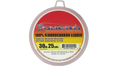 Ohero 100% Fluorocarbon Leader 30 Lb 25 Yards Spool