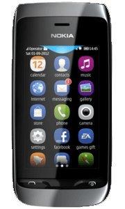 Nokia 308 Asha Black Factory Unlocked Dual SIM phone 2MP For EUROPE / ASIA MARKET
