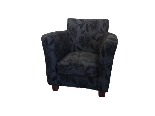 Designer chair in black