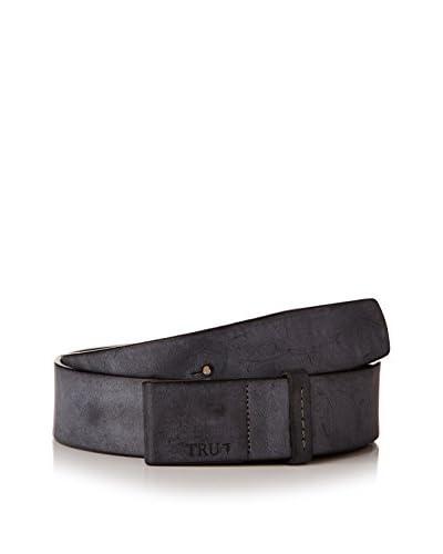 TRU TRUSSARDI Cinturón Negro