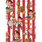 Jake And The Neverland Pirates Gift Wrap Pack