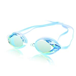 Speedo Womens Vanquisher Goggle, Blue