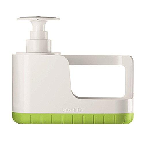 ORGANIZZATORE PER LAVELLO CON DOSASAPONE TIDY&CLEAN 'MY KITCHEN' colore verde