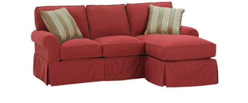 Slipcover Sectional Sofa With Chaise. 16 Reviews Of Ballard Designs ...