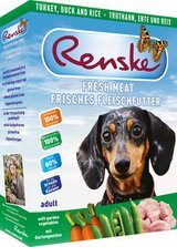 RENSKE FRESH MEAT MENU - TURKEY AND DUCK - 10 x 395 g from RENSKE