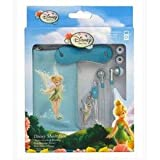 DISNEY TINKERBELL AUDIO PACK MOBILE MP SOCK,GEM EARPHONE,CABLE TIDY [Toy]
