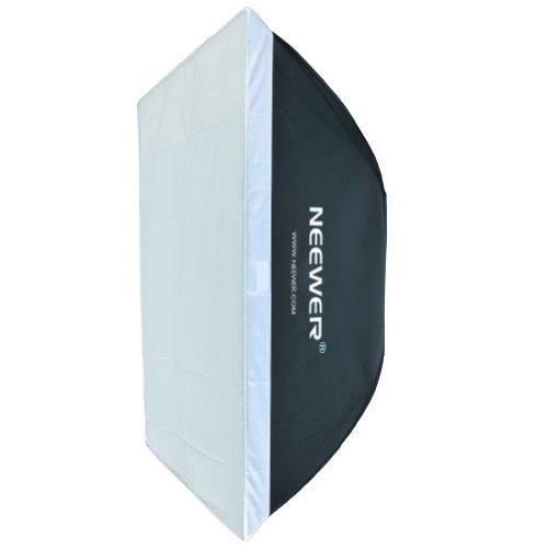 "Neewer Softbox Rectangulaire Portable avec Bowens Monture 60 X 90cm / 23,6 ""X 35.4"" pour 300w 400W 600W 800W 1000W Flash de Studio"