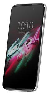 Alcatel Onetouch Idol 3 Smartphone (13,9 cm (5,5 Zoll), 13 Megapixel, IPS, Android 5.0 Lollipop) metallic silver