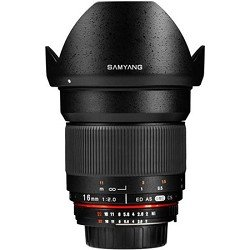 Samyang SY16M-P 16mm f/2.0 Aspherical Wide Angle Lens for Pentax KAF Cameras