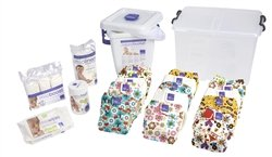 Bambino Mio All-in-One Cloth Diaper Premium Pack, Girl