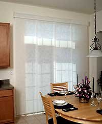 Fabric Panel Track Blinds (Made-to-measure sizes available)