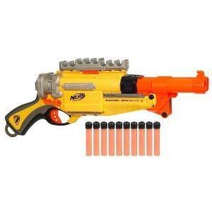 IX-2 N-Strike Nerf Pistol Barrel Break Blaster