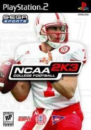 NCAA Football 2K3 PS2