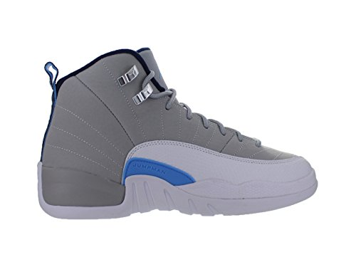 Air-Jordan-12-XII-Retro-GS-University-Blue-Wolf-Grey-White-Midnight-Navy