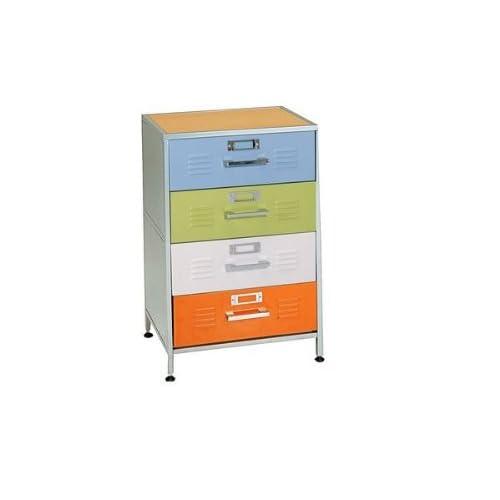 Amazon.com - American Furniture Alliance Locker 4 Drawer Dresser