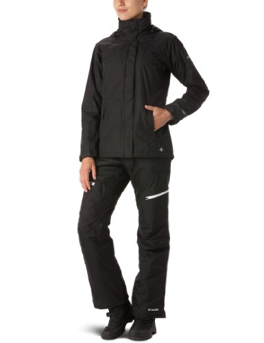 Columbia Women's Pioneering Peak Interchange Jacket - Black/Black, Medium