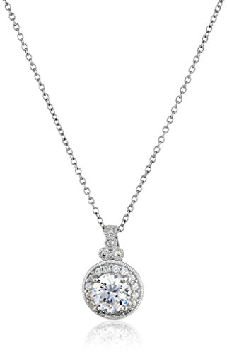 platinum-plated-sterling-silver-and-swarovski-zirconia-round-cut-antique-pendant-necklace-18