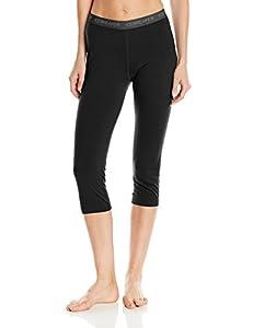 Icebreaker Damen Unterhose Legging Oasis Legless, Black, XS, 100520001XS