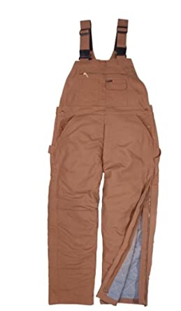 Key Apparel Mens Fire Resistant Insulated Duck Bib Overall by Key Apparel