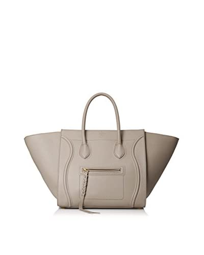 Céline Women's Phantom Pebbled Handbag, Gray
