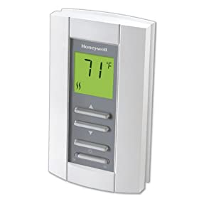 Honeywell TL7235A1003 LineVoltPRO Non-Programmable Digital Thermostat With Electronic Temperature Control