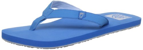 Reef Men's Slim Smoothy Black/Blue/Candy Flip Flops R0242BBA 7 UK, 8 US