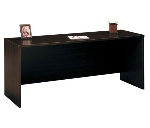 Bush Business Furniture WC12926 Mocha Cherry Series C Credenza 72 Inch [Kitchen
