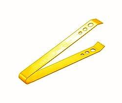 King International Stainless Steel Golden Ice Tong