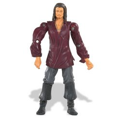 Buy Low Price Zizzle Pirates of the Caribbean 3: Prisoner Will Turner 3.75″ Figure with Sword and Navigational Charts (B000PCCSJY)