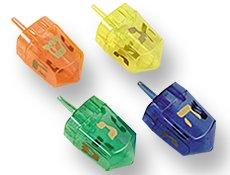 Amscan Dreidel Favors (4 Pack), Multicolor