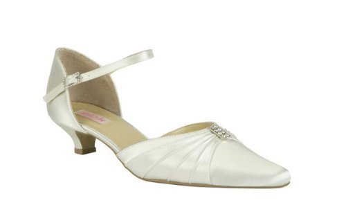 Oyster Wedding Shoes Ivory Size 7