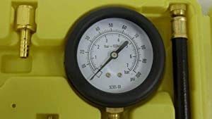KCHEX>New Fuel Injection Pump Injector Tester Test Pressure Gauge Gasoline Cars Trucks>Test Gasoline Fuel Pump Pressure on Most Fuel Injection Equipped Vehicles (Expect for CIS-Jetronic, Bosch