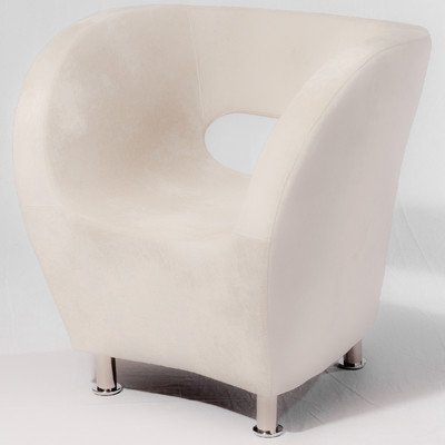 Best Selling Home Decor Modern Ivory Fabric Chair (Dcor Design Tub Chair compare prices)