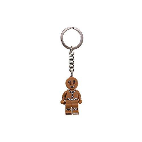 LEGO Gingerbread Man Keychain - 1
