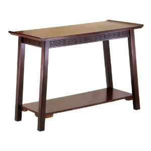 Cheap Chinois Console / Hall Table With Shelf By Winsome Wood (B00563M2T8)