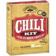 Carroll Shelby's Original Texas Chili Kit, 4 Oz (Pack of 3) (Carrolls Chili Mix compare prices)