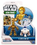 Playskool Heroes, Star Wars, Jedi Force Figures, R2-D2 and C-3PO - 1
