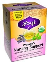 Yogi Tea Woman'S Nursing Support Caffeine Free - 16 Tea Bags, Pack Of 6 (Image May Vary)