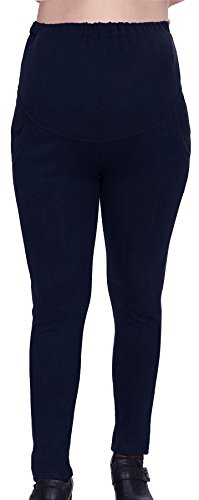 Simplicity-Pregnant-Womens-Cotton-Knit-Maternity-Stretch-Leggings