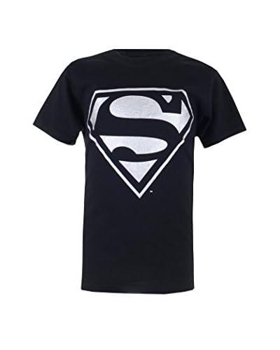 DC COMICS Camiseta Manga Corta Silver Superman