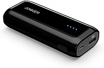 Anker Astro E1 5200mAh Ultra Compact Portable Charger External Battery Power Bank with PowerIQ(TM) Technology for iPhone, iPad, Samsung, Nexus, HTC and More (black)