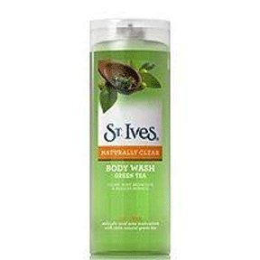 St. Ives Green Tea Naturally Clear Body Wash, 9 Ounce (Pack of 2)