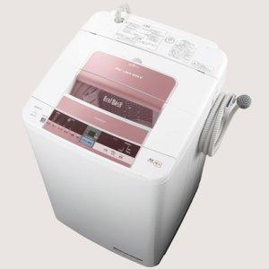 日立 7.0kg 全自動洗濯機 ピンクHITACHI ビートウォッシュ BW-7TV-P