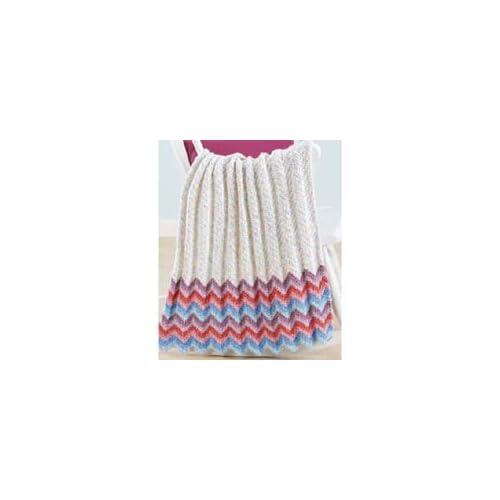 Teddy Bear Ripples Baby Afghan Crochet Afghan Kit Arts