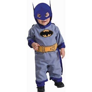 Rubie's Costume Co Batman The Brave And The Bold Romper Blue Batman 12-18M