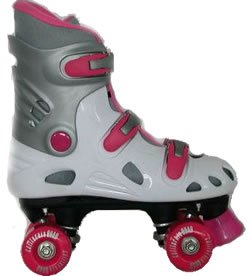 California Pro White/pink Quad Skate Eu34