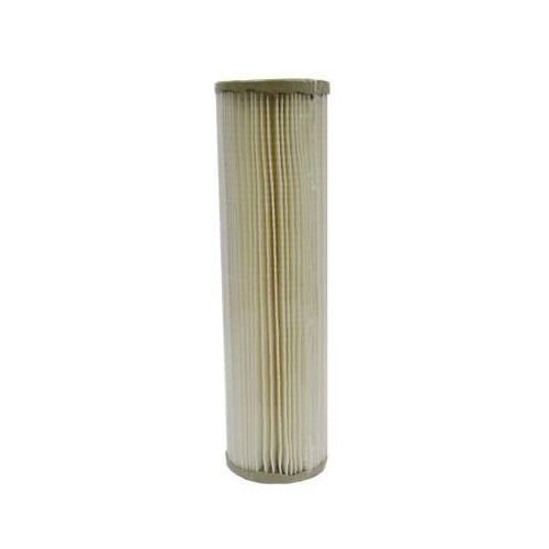 Genesis Water Technologies PS2.5-10 Advanced Pleated Nano Filter Sediment Cartridge Replacement Filter Measuring 10-Inch X 2.5-Inch