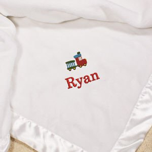 Cashmere Baby Blanket Personalized